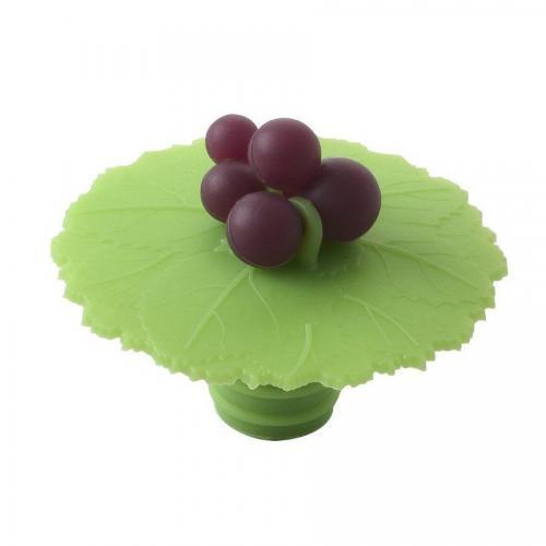 Wine Bottle Stopper Grapes