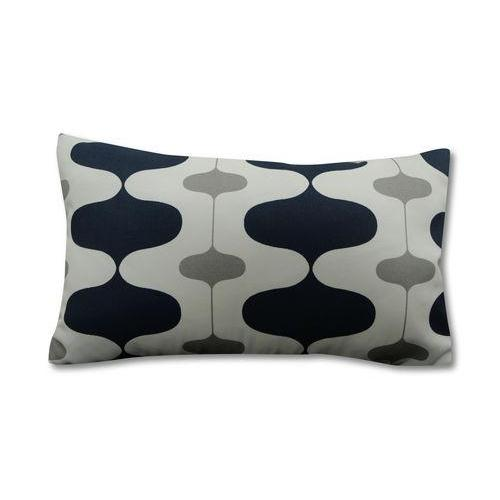 Hourglass Navy Outdoor 18x18 Pillow