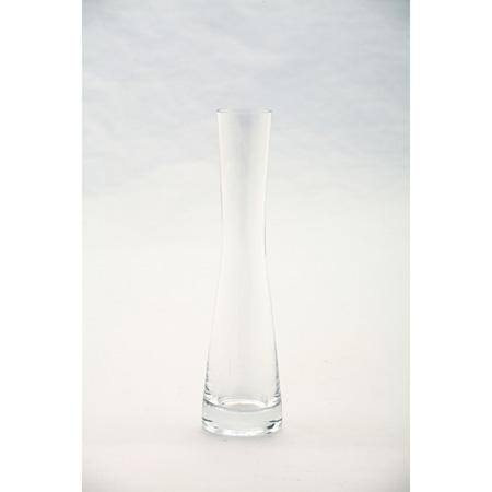 Clear Glass Vase 8x2in