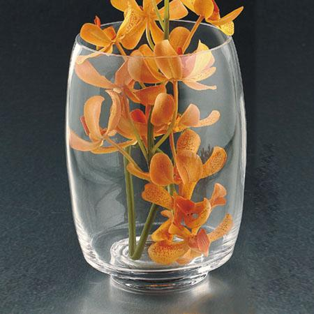 Clear Glass Vase 7.5x3in