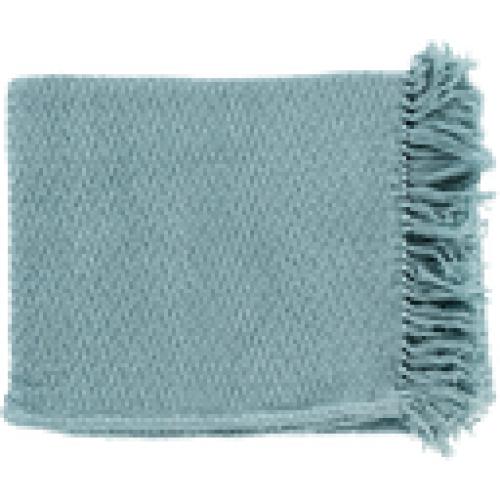 Tressa Throw Blanket 50x60 Sea Foam