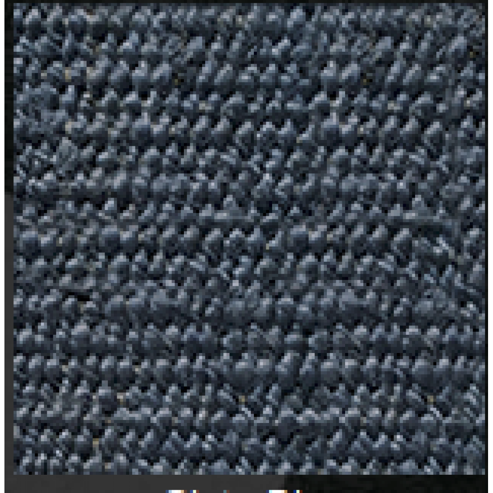 Hemp Rug 3ft X 5ft Slate Blue