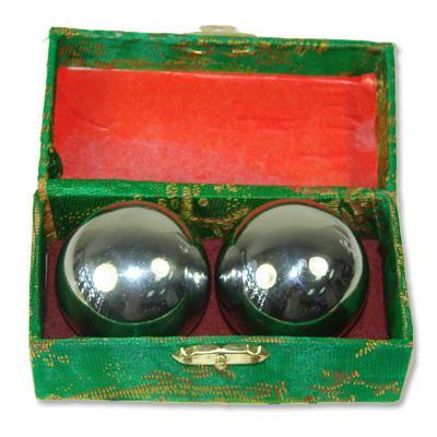 Meditation Balls Plain Silver