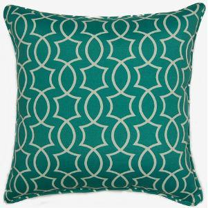 Titan Peacock Outdoor Pillow 17in X 17in