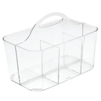Bath Caddy Clarity Clear Small