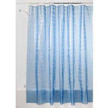 Shower Curtain - Eva Ripplz Blue