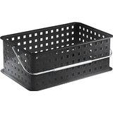Bath Caddy Basket Black Medium