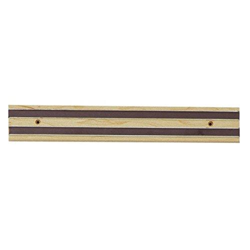 Magnetic Knife Bar Wooden 12in