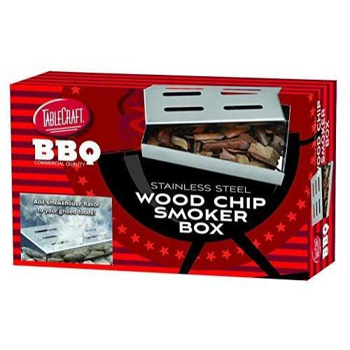 Grilling Woodchip Smoker Box