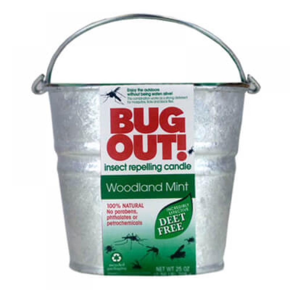 Bug Out - Woodland Mint Tin Candle