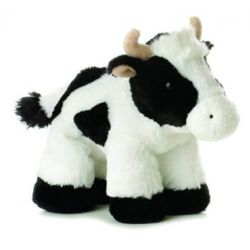 Flopsie Mini 8in Cow Moo