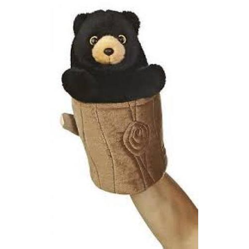 Puppet Pop Up Black Bear