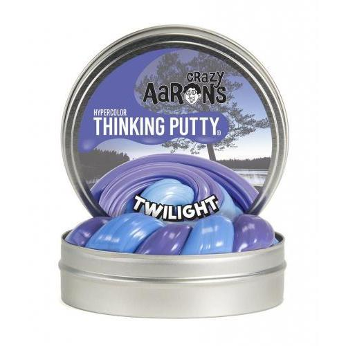 Thinking Putty 4in Heat Sensitive Hypercolor Twilight