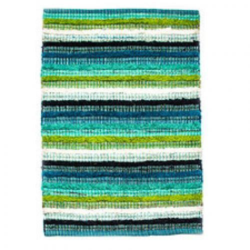 Casabella 28in X 84in Runner Rug Blue/green