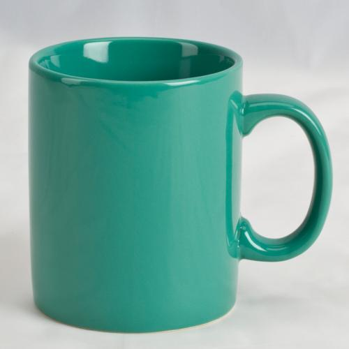 Mug Cafe Bright 11oz Teal