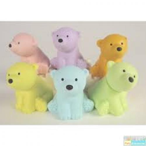 Eraser Polar Bears 6 Colors
