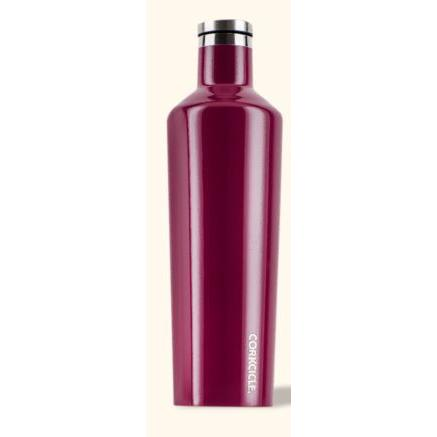 Travel Bottle Canteen 25oz, Merlot