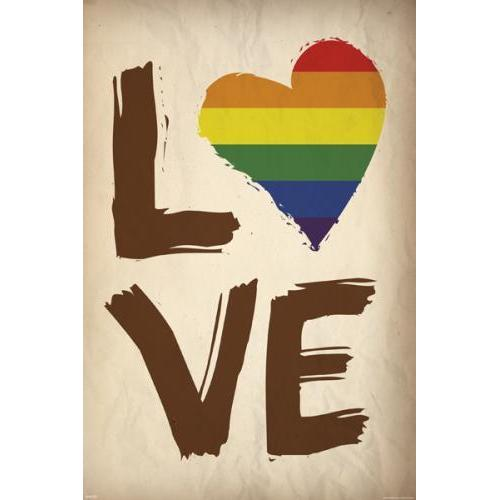 Love Is Love Is Love 24inx36in Poster