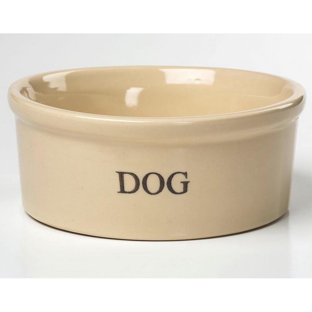 Pet Dog Food Bowl 9in