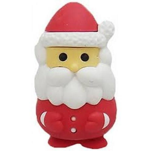 Holiday Eraser Santa Red Suit
