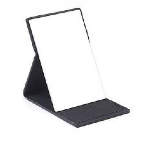Folding Mirror Black And White