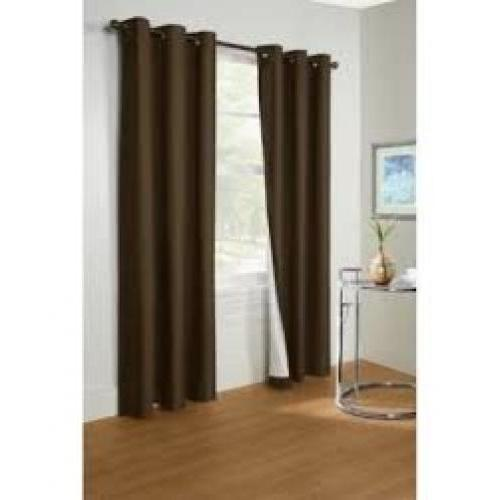 Prelude Thermalogic Ant. Brass Grommet Panel 40x63 Dark Brown