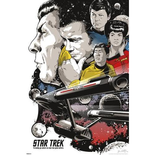 24inx36in Star Trek - To Boldly Go Poster