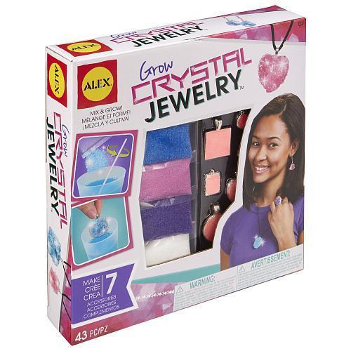 Grow Crystal Jewelry
