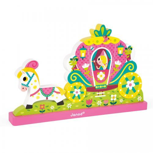 Puzzle Magnetic 3d Vertical Princess