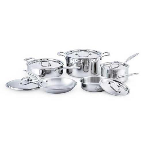Cookware Set 10 Piece Core Cookware (7-ply Multi-clad Stainless Steel)