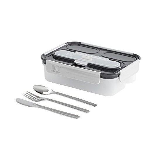 BUILT NY 5pc Gourmet 3 Compartment Bento