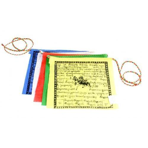 Prayer Flag Small 5 Piece 4x4.5""