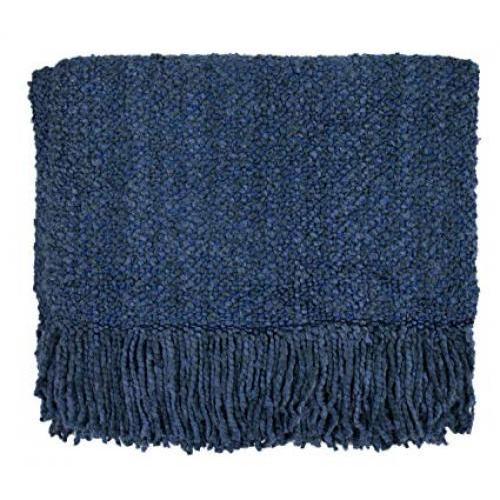 Throw Blanket Campbell Bristol Blue 40x70