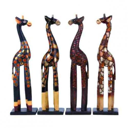 Giraffe 4 Assorted 6in W X 24in H