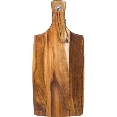 Cutting Board Wood Acacia Paddle 16in Long