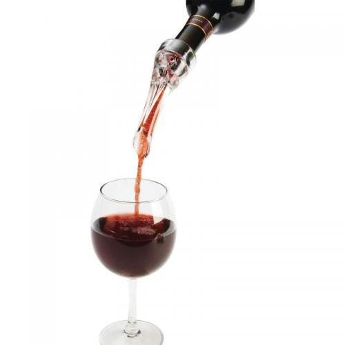 Wine Bottle Accessory Aerator Pourer Boxed (maxam)