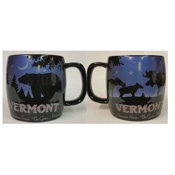 Mug Moose And Bear Night Sky