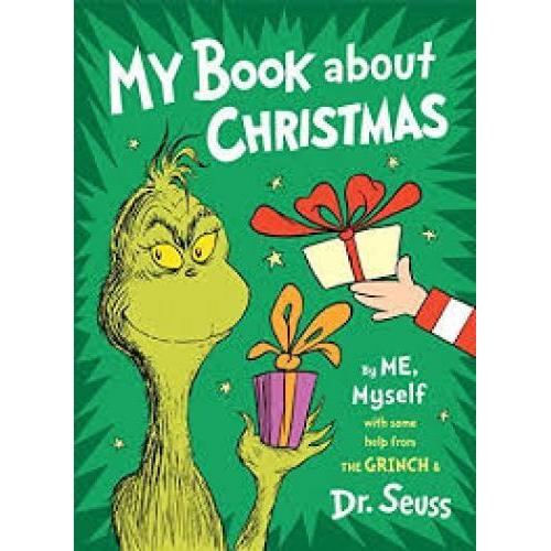 Dr. Seuss Book My Book About Christmas By Me, Myself 8x10.875