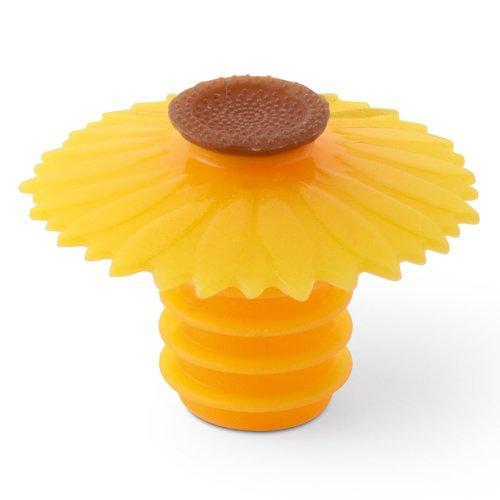 Wine Bottle Stopper Sunflower