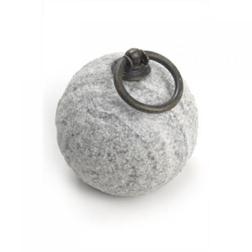 Doorstop Stone Grey