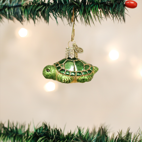 Christmas Ornament Baby Turtle