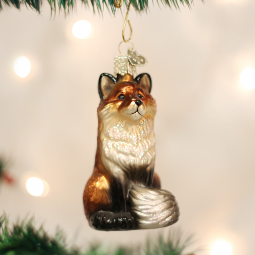 Christmas Ornament Fox