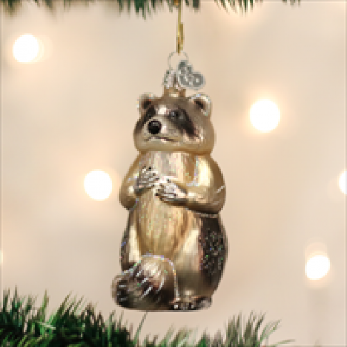 Christmas Ornament Raccoon