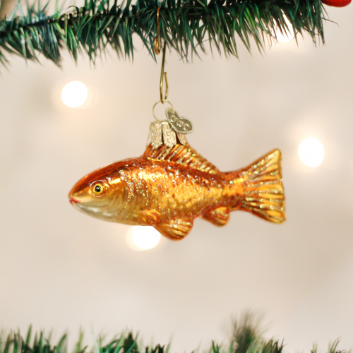 Christmas Ornament Goldfish
