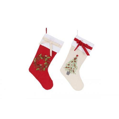 Christmas - Stocking - Embroidered