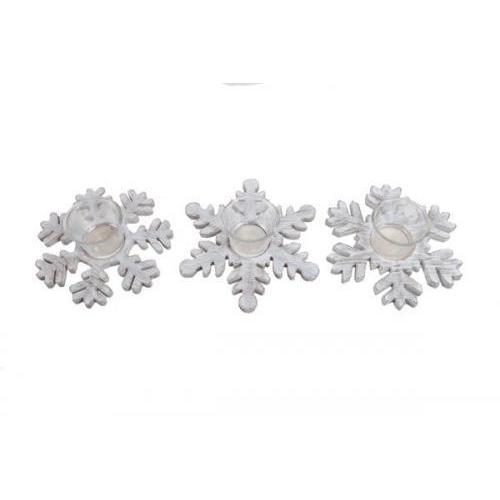 Christmas - Mezz - Tealight Holder Snowflake