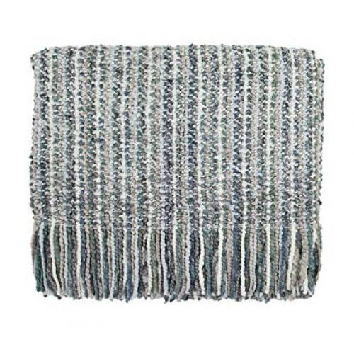 Throw Blanket Stria Frost 40x70