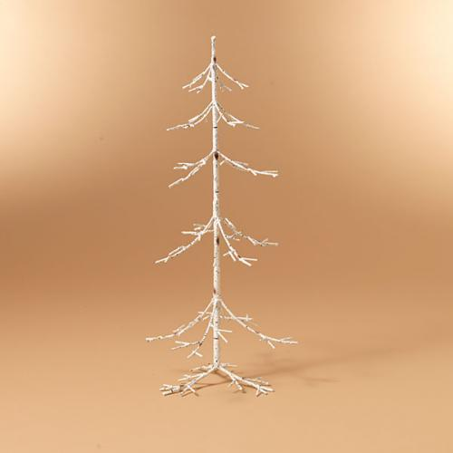 Christmas - Tree Birch Ornament Display Metal 30in High