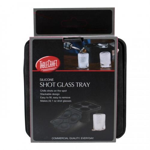 Ice Mold Tray Silicone Shape-shot Glass