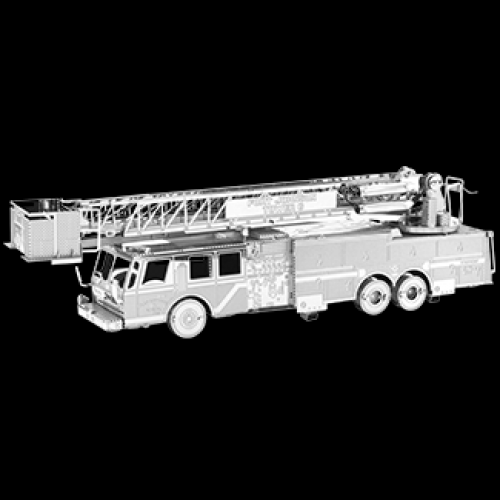 Metal Model Kit Fire Engine Truck